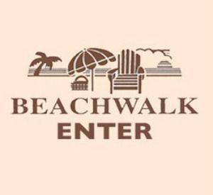 Beachwalk in Mexico Beach Florida