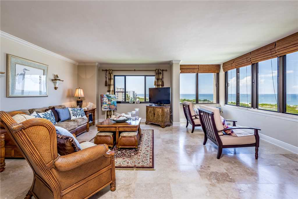 Sandarac 708A 2 Bedrooms Heated Pool Gulf Front WIFI Sleeps 6 Condo rental in Sandarac in Fort Myers Beach Florida - #6
