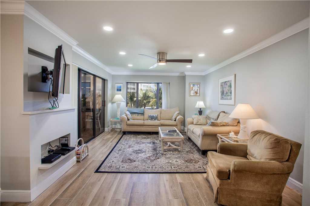 Sandarac B304 2 Bedrooms Gulf Front Elevator Heated Pool Sleeps 6 Condo rental in Sandarac in Fort Myers Beach Florida - #1