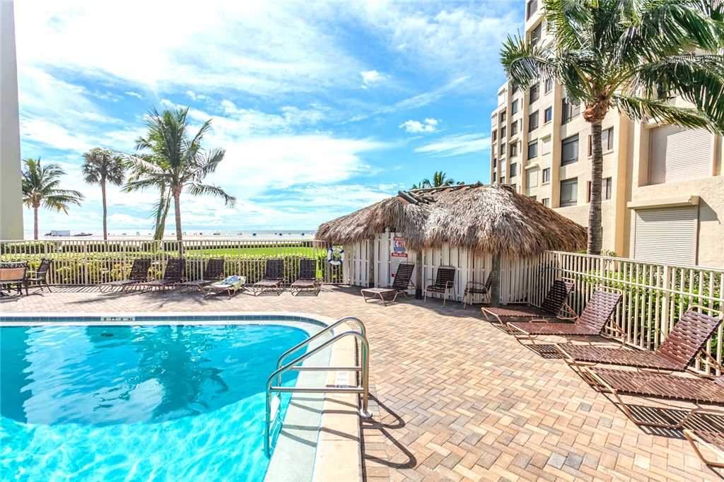 Sandarac B609 2 Bedrooms Gulf Front Elevator Heated Pool Sleeps 4 Condo rental in Sandarac in Fort Myers Beach Florida - #2