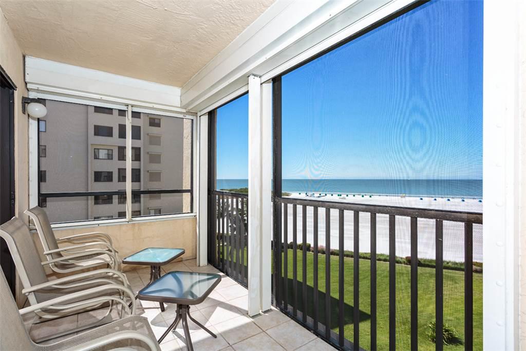 Sandarac B611 2 Bedrooms Gulf Front Elevator Heated Pool Sleeps 6 Condo rental in Sandarac in Fort Myers Beach Florida - #1