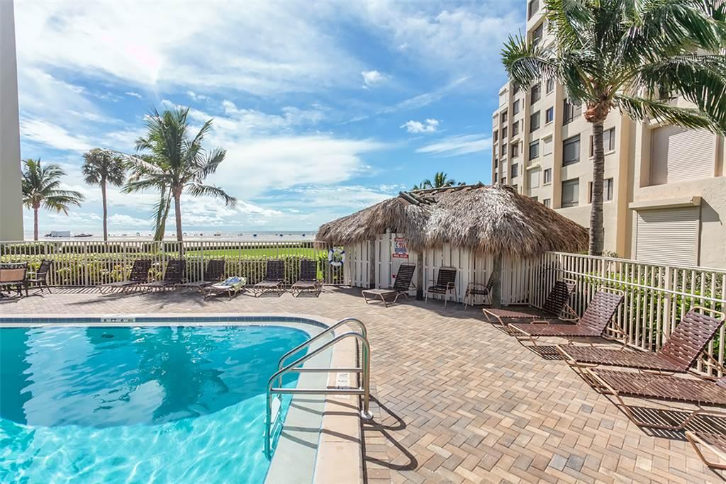 Sandarac B611 2 Bedrooms Gulf Front Elevator Heated Pool Sleeps 6 Condo rental in Sandarac in Fort Myers Beach Florida - #2