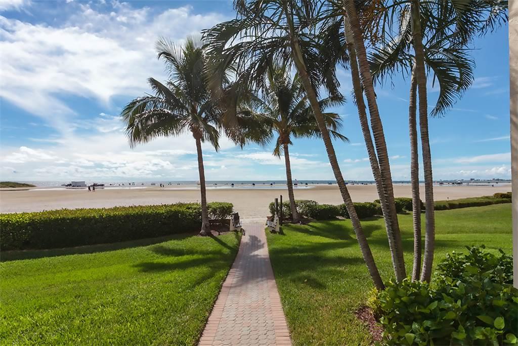 Sandarac B611 2 Bedrooms Gulf Front Elevator Heated Pool Sleeps 6 Condo rental in Sandarac in Fort Myers Beach Florida - #18