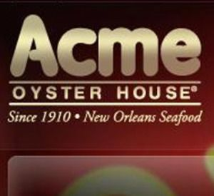 Acme Oyster House in Destin Florida