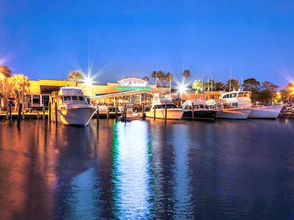 Captain Anderson's Restaurant in Panama City Beach Florida