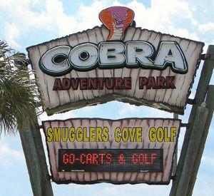 Cobra Adventure Park in Panama City Beach Florida
