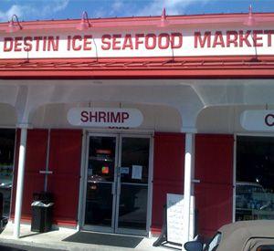 Destin ice seafood market and deli in destin florida for Destin fish market