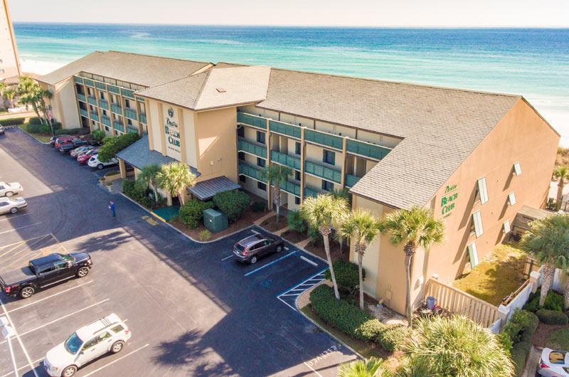 Beachfront Destin Beach Club in Destin FL