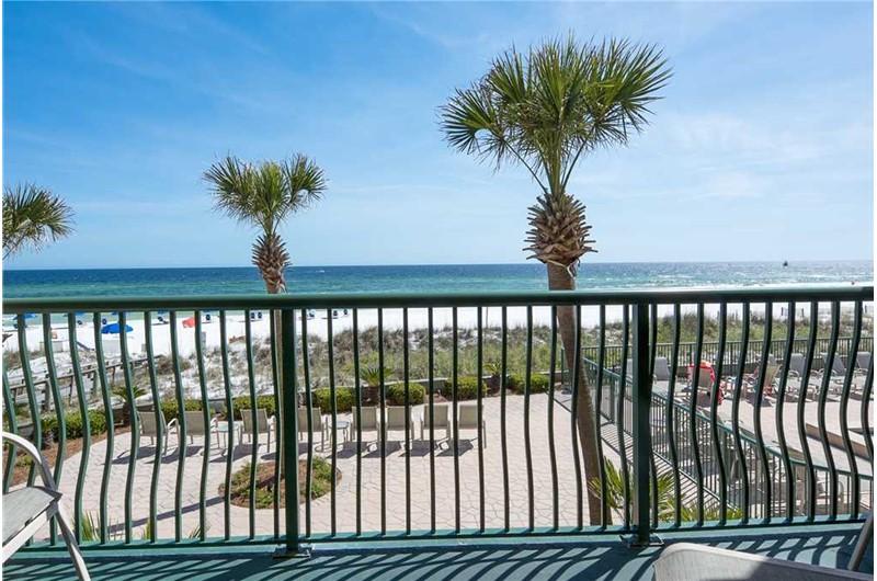 Balcony view from Destin Beach Club in Destin Florida