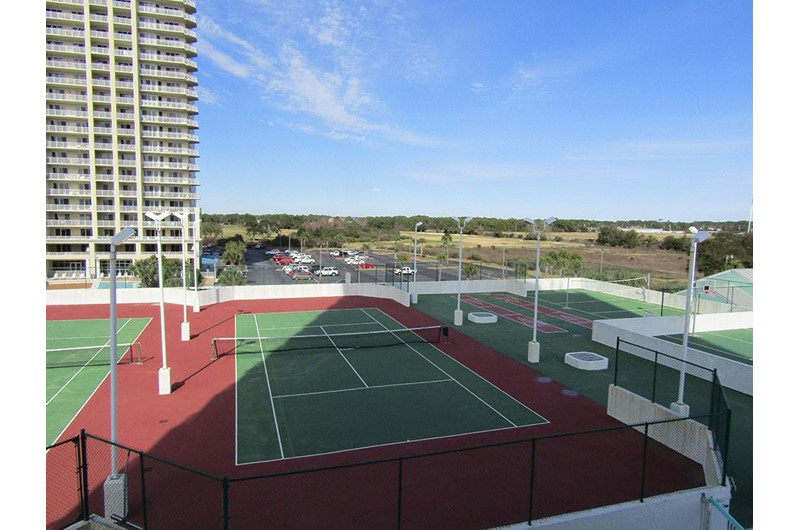 Great tennis cours at Surfside Resort in Destin Florida