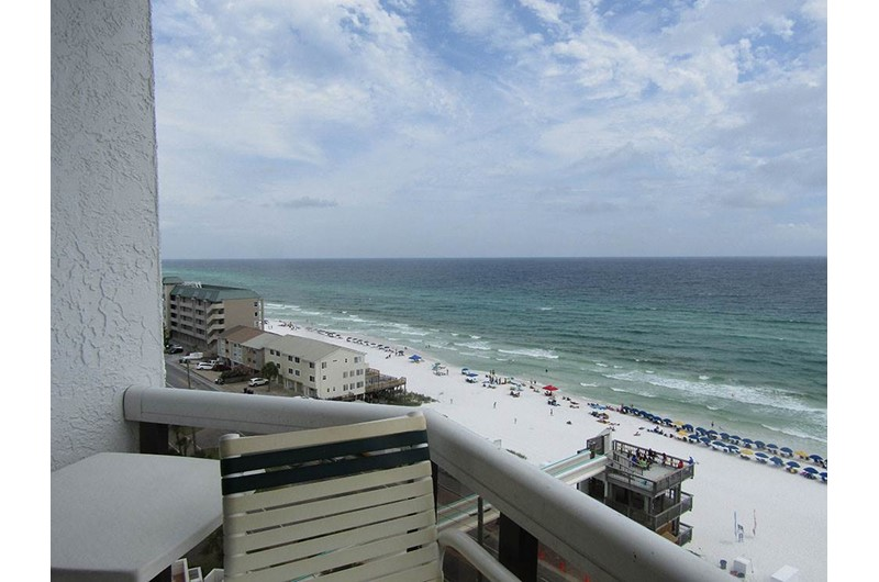 Expansive view from Surfside Resort in Destin Florida