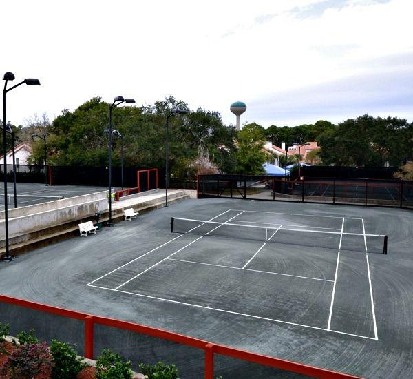 Tennis courts at TOPS'L Summit in Destin Florida.
