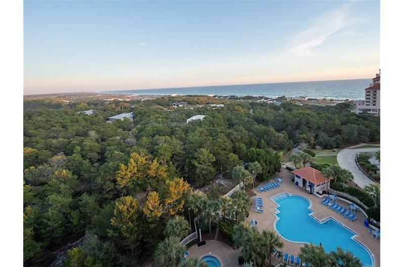 Wonderful view from Tops'l Summit in Destin Florida