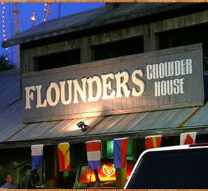 Flounder's Chowder House in Pensacola Beach Florida