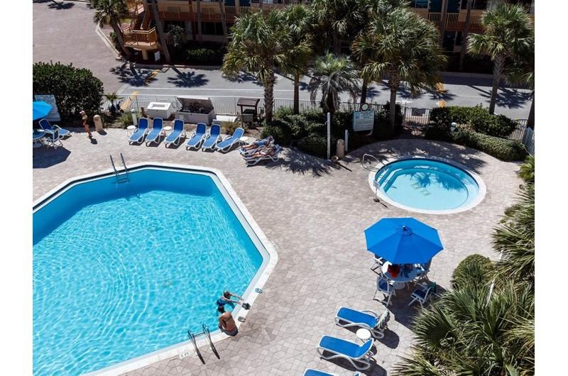 Hot tub at Destin West Beach & Bay Resort  in Fort Walton Florida