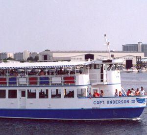 Glass Bottom Cruiser to Shell Island in Panama City Beach Florida