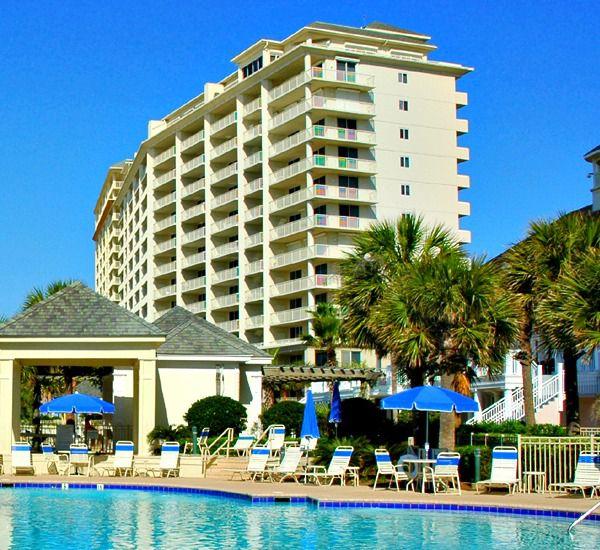Swimming pool at Beach Club Condominiums in Gulf Shores Alabama
