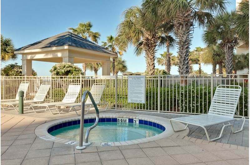 Hot tub at Beach Club in Gulf Shores Alabama