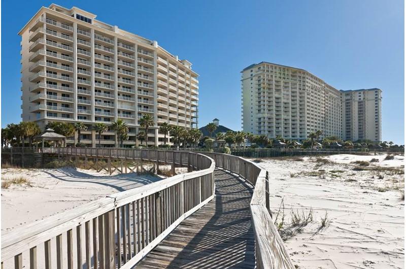 Expansive beach at Beach Club in Gulf Shores Alabama