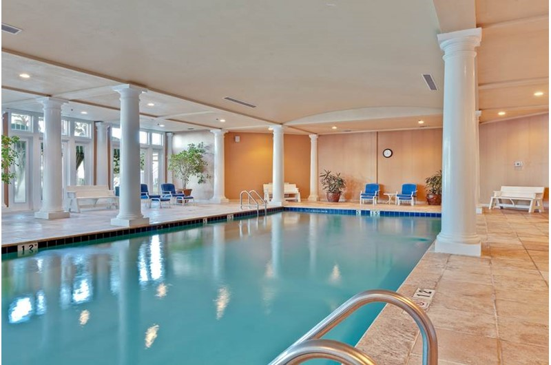 Huge indoor pool at Beach Club in Gulf Shores Alabama