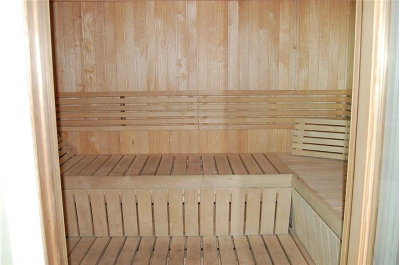 Crystal Shores West Condos sauna in Gulf Shores AL