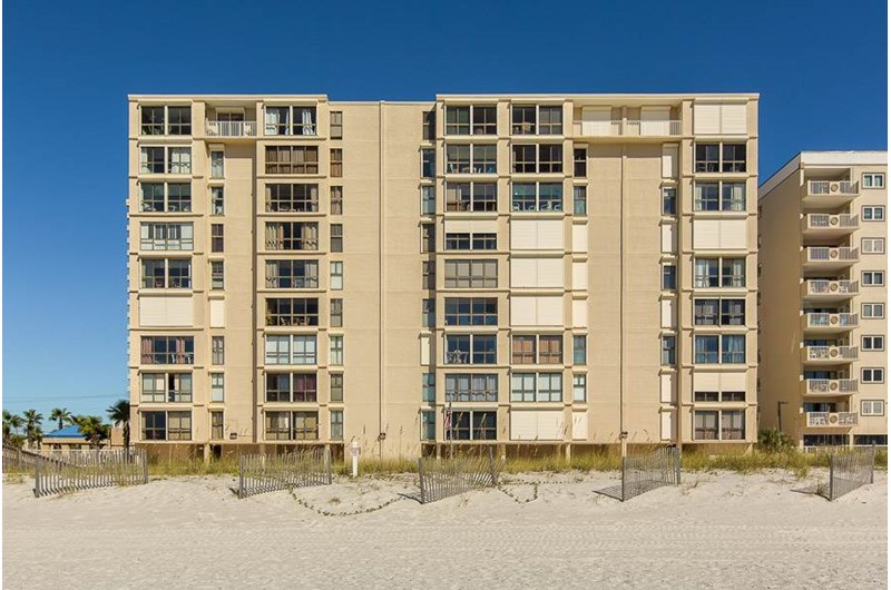 Edgewater West on the Gulf in Gulf Shores Alabama
