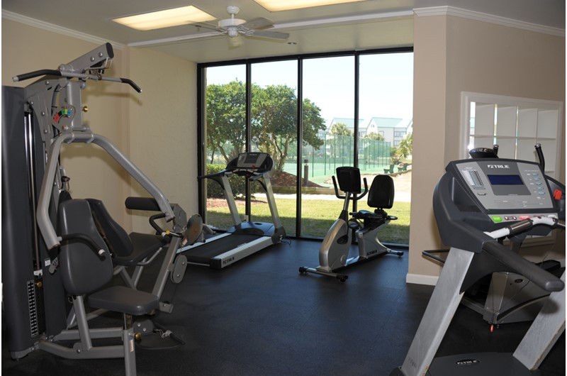 Fitness center at Gulf Shores Plantation