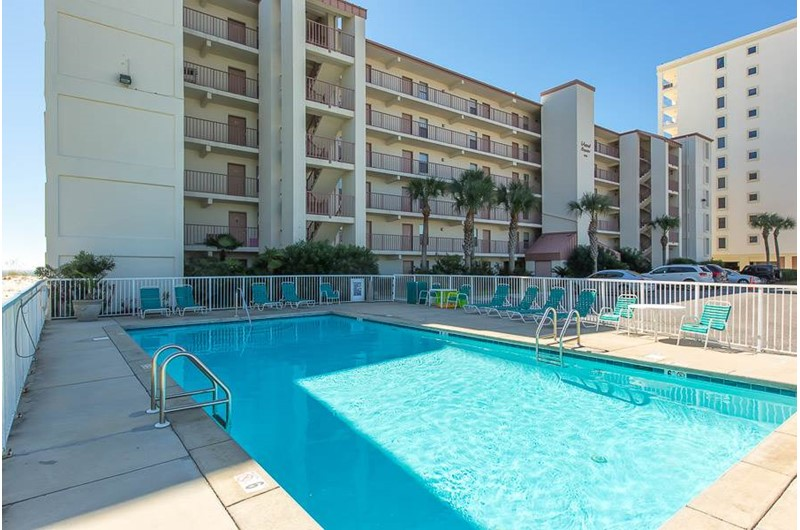 Nice pool at Island Shores in Gulf Shores Alabama