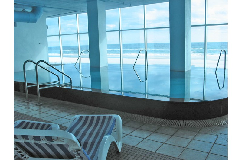 Indoor pool at Island Tower Gulf Shores