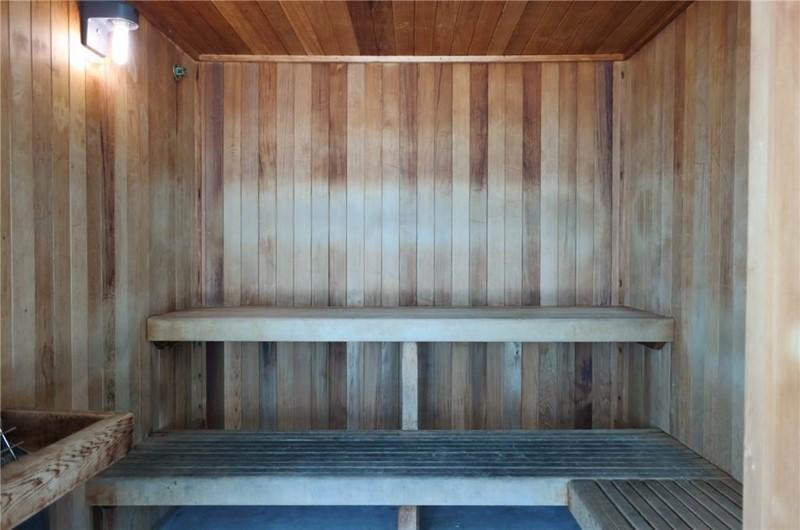 Sauna at Island Tower in Gulf Shores Alabama
