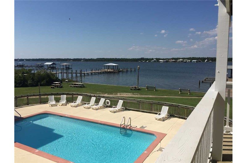 Nice pool area at Lagoon Run in Gulf Shores Alabama