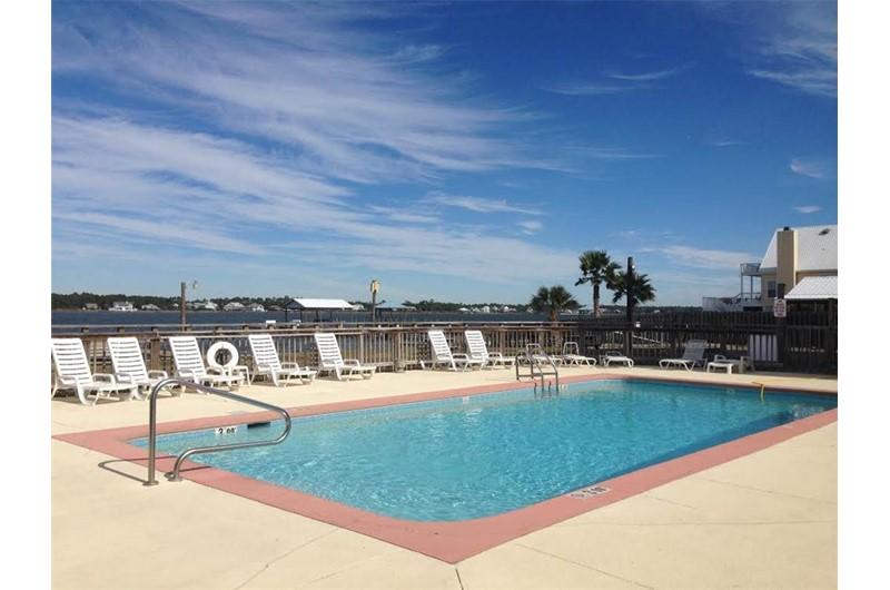 Enjoy the pool at Lagoon Run in Gulf Shores Alabama