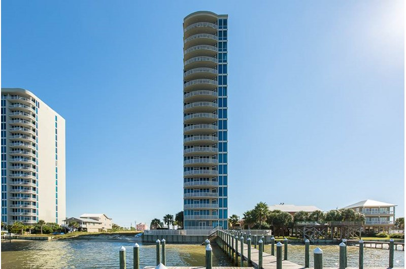 Lagoon Tower in Gulf Shores Alabama