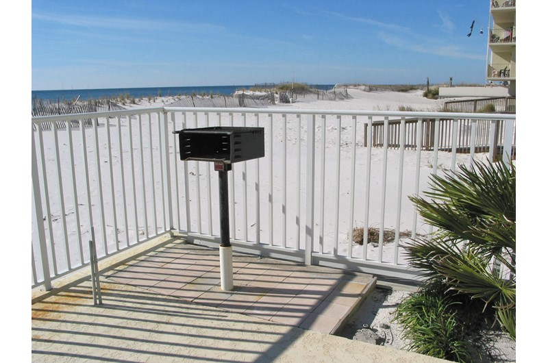 Convenient grilling area at Legacy Gulf Shores