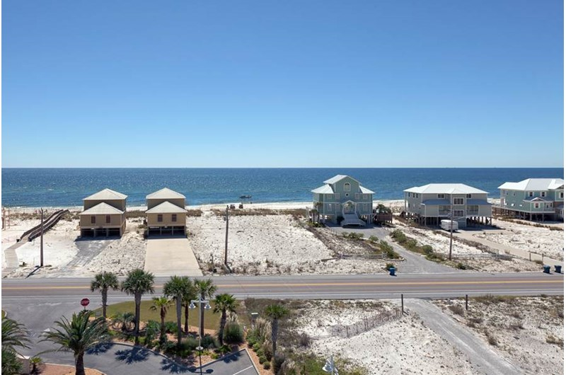 Gulf view from Mustique in Gulf Shores Alabama