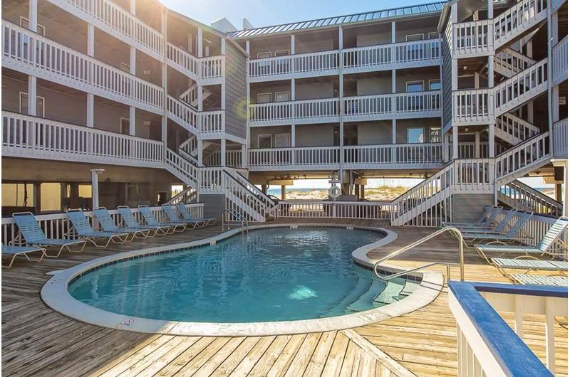 Nice pool at Regatta in Gulf Shores Alabama