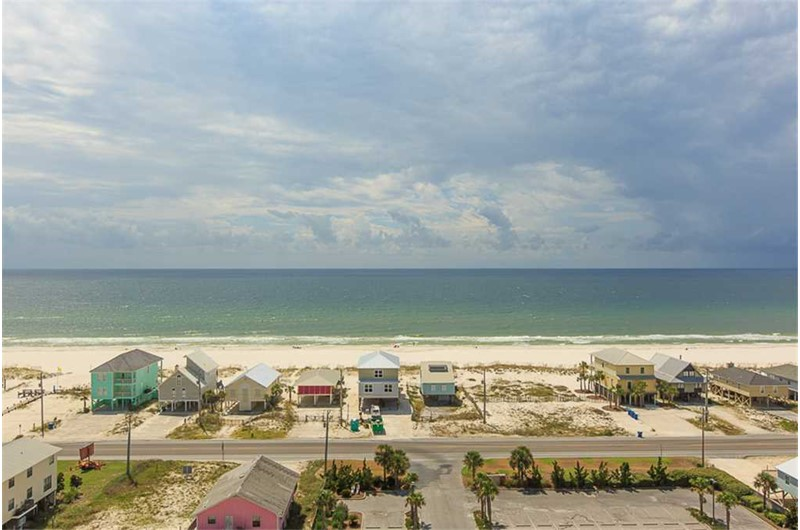 Wonderful view of the Gulf from Sanibel in Gulf Shores Alabama