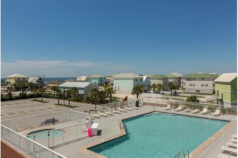 Nice pool at Sanibel in Gulf Shores Alabama