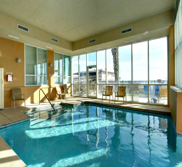 Seawind Condos in Gulf Shores AL indoor pool