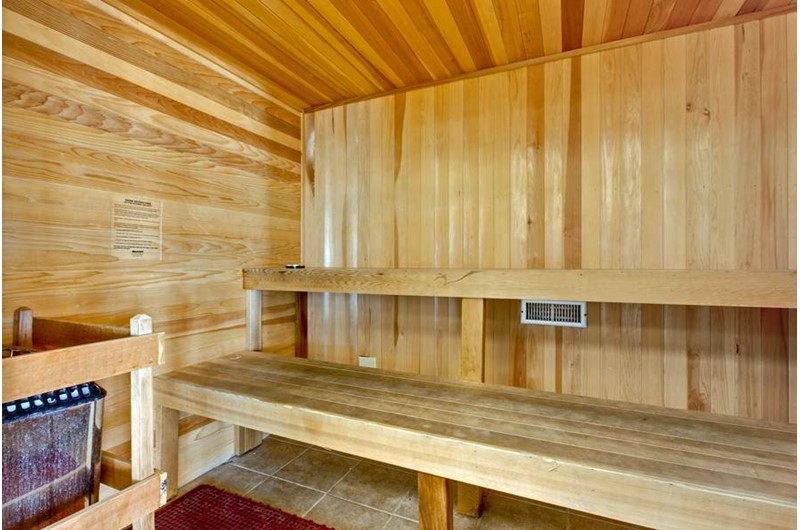 Sauna at Seawind in Gulf Shores Alabama