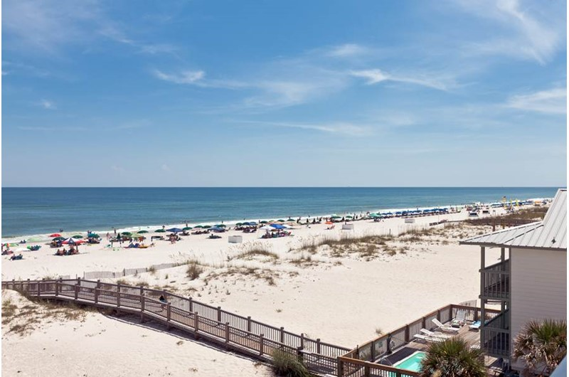View from Tropic Isle in Gulf Shores Alabama