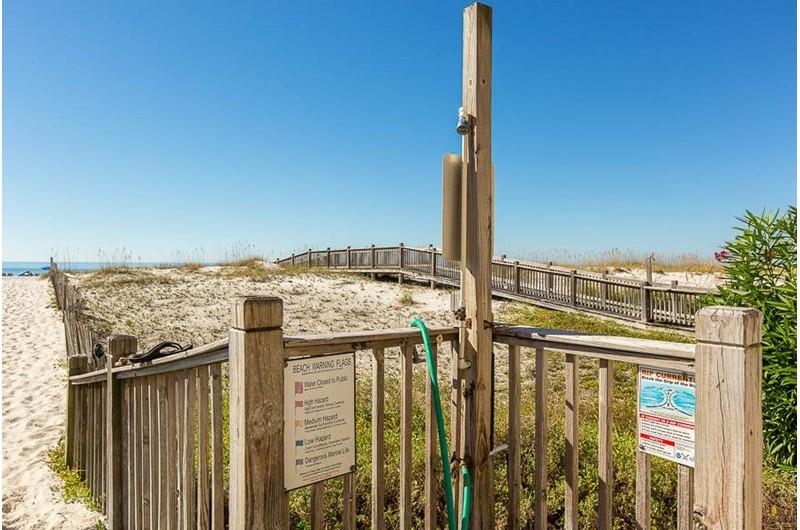 Boardwalk at Tropic Isle in Gulf Shores Alabama