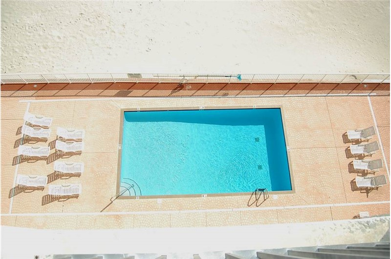 Inviting swimming pool at Tropical Winds Gulf Shores AL