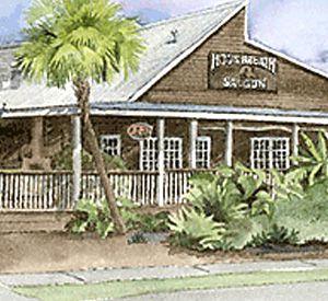 Hog's Breath Saloon in Destin Florida