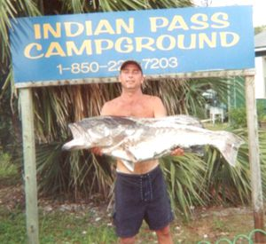 Indian Pass Campground in Mexico Beach Florida