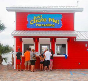 Just Chute Me! Parasail in Destin Florida