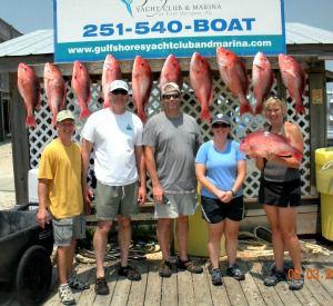 Ni-Cole Fishing Charters in Gulf Shores Alabama