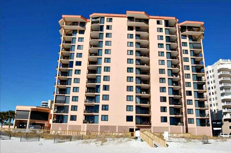 Beachfront condominiums Broadmoor in Orange Beach AL