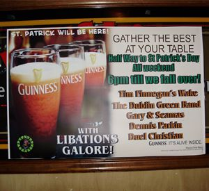 Paddy OLeary's Irish Pub in Pensacola Beach Florida