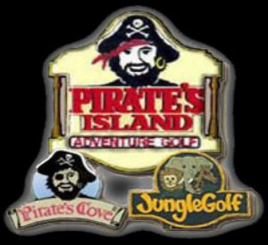 Pirates Island Adventure Golf in Gulf Shores Alabama